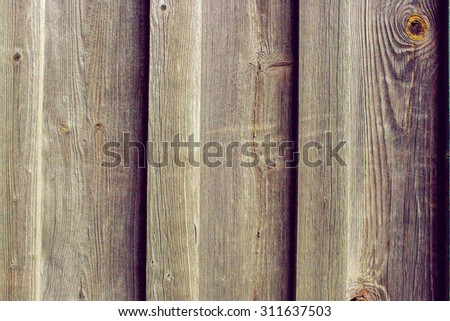 a natural background texture image of old pine boards - stock photo