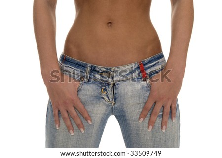 A nice bodypart - stock photo
