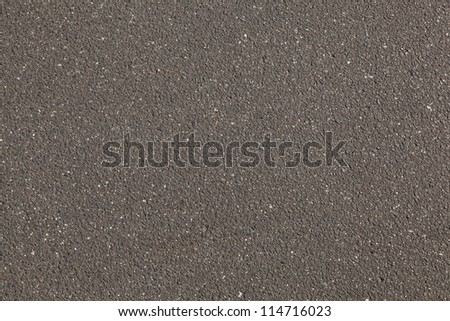 A old gray road was rebuilt - stock photo