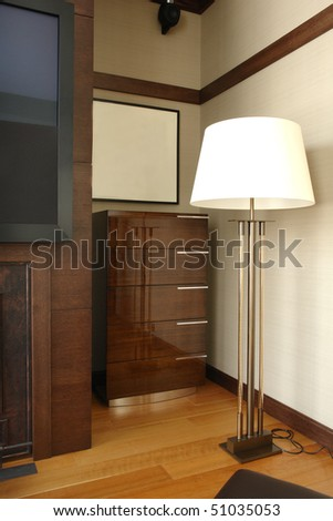 a part of bedroom - stock photo