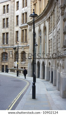 A photo of a beautiful architecture in London - stock photo