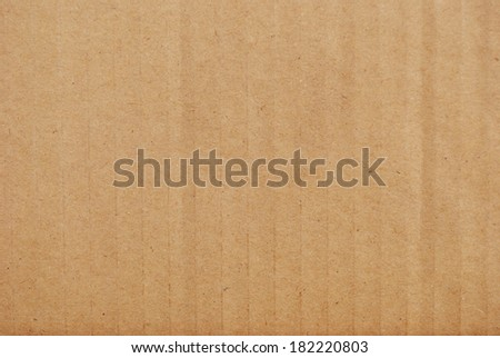 A Photo of a Corrugated Card Texture - stock photo