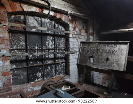 A photo of a derelict brewery - stock photo
