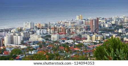 A photo of Sea Point, Cape Town, South Africa - stock photo