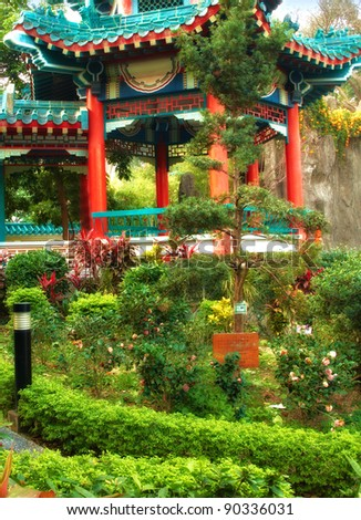 A photo of Wong Tai Sin Temple, Hong Kong - stock photo