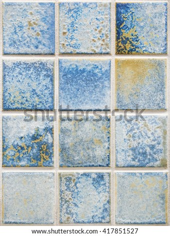 A photography of a seamless stone tiles wall - stock photo