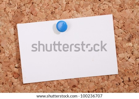 a pinboard with thumtacks on it........... - stock photo