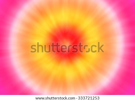 a pink psychedelic tie dye background with a retro look - stock photo