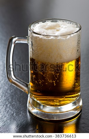 A Pint of Beer - stock photo