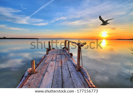 a place to rest - stock photo