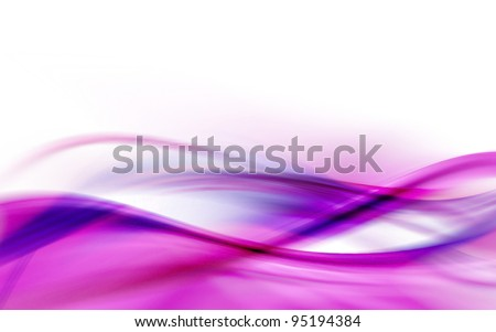 A purple abstract wave background - stock photo