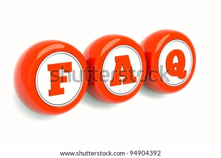 a red empty round icons isolated on white - stock photo