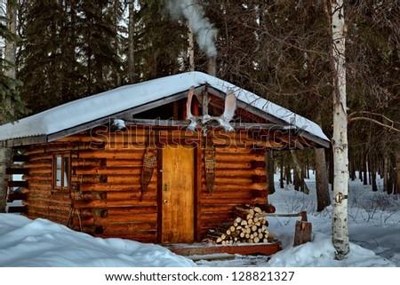Alaska rustic cabin log kitchen joy studio design for Remote cabin plans