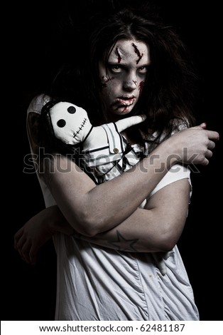 Stock Images similar to ID 53516432 - a bloody and scary ...