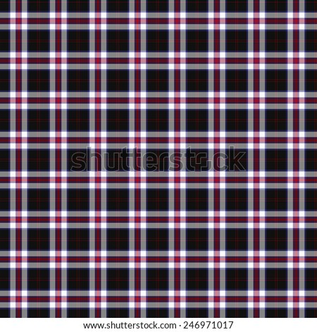 A seamless patterned tile of the Angus District Dress tartan. - stock photo