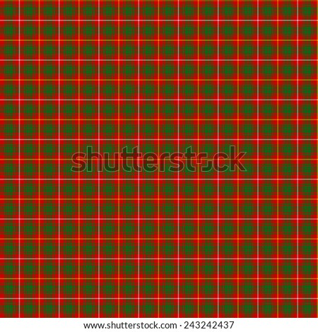 A seamless patterned tile of the clan Bruce tartan. - stock photo