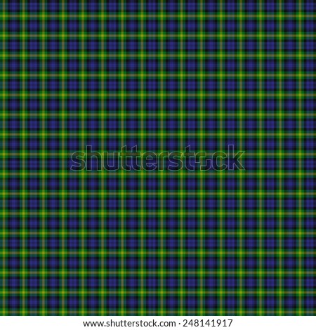 A seamless patterned tile of the clan Gordon of Esselmont tartan. - stock photo