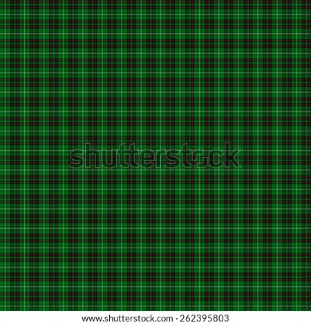 A seamless patterned tile of the clan MacAulay of Lewis tartan. - stock photo