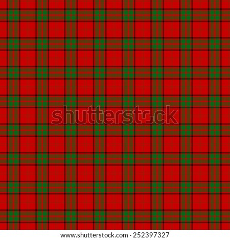 A seamless patterned tile of the clan Maxwell tartan. - stock photo