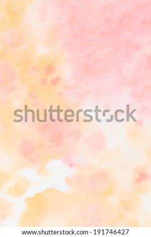 A series of abstract watercolour backgrounds - stock photo