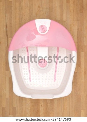 A shot of a domestic foot spa - stock photo