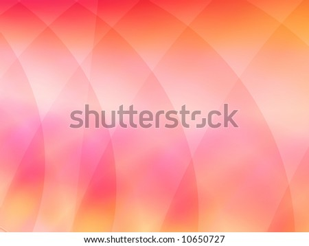 A softly colored fractal background in shades of rose and peach. - stock photo