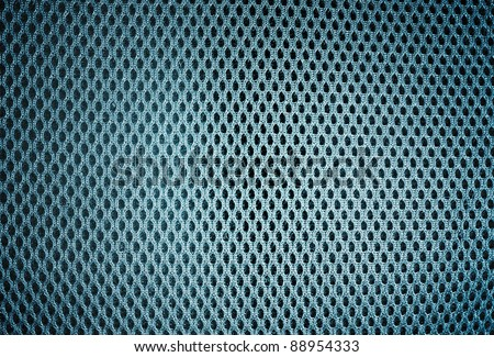 A solid background of sports mesh fabric. - stock photo