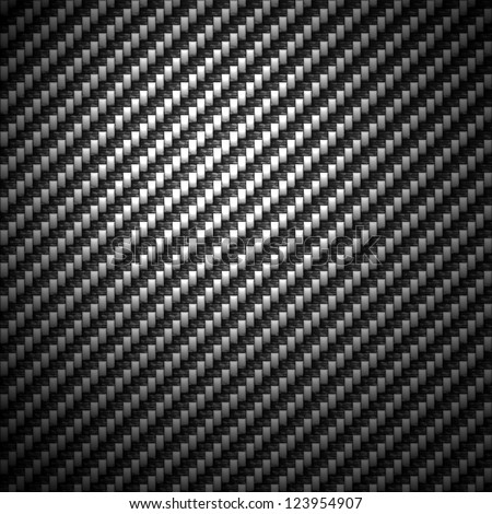 A super detailed carbon fiber background. The actual strands and fibers of the carbon cloth are even visible. - stock photo