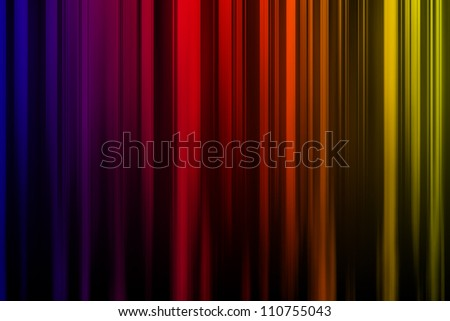 A unique and colorful abstract background Illustration of multi-colored vertical lines. - stock photo
