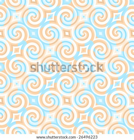 A vintage wallpaper texture that tiles seamlessly as a pattern. - stock photo