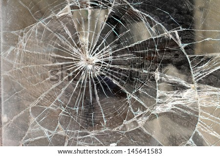 A window shop broken background  - stock photo