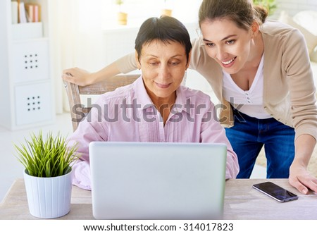 a women doing online shopping - stock photo