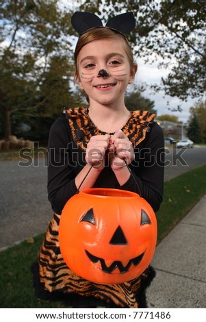 A young girl - stock photo