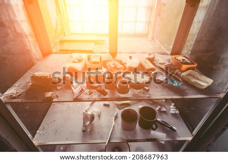 Abandoned Jail in Tallinn - stock photo