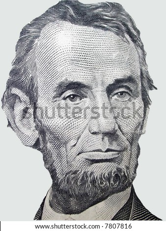 Abe Lincoln - stock photo