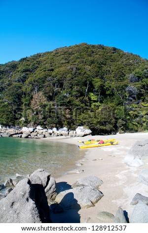 Abel Tasman National Park, New Zealand - stock photo