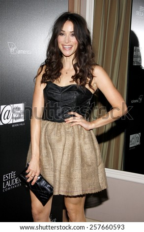 Abigail Spencer at the Los Angeles Gay & Lesbian Center Honors Rachel Zoe held at the Sunset Tower Hotel, California, United States on January 23, 2012.  - stock photo
