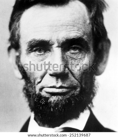Abraham Lincoln. - stock photo