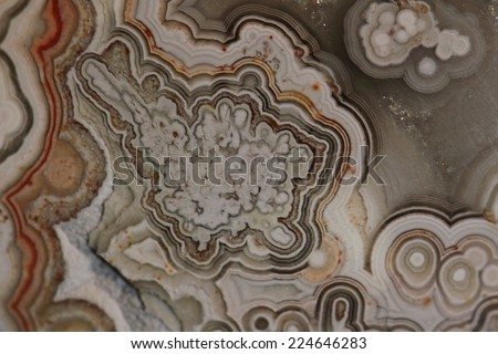 abstract agate background - stock photo