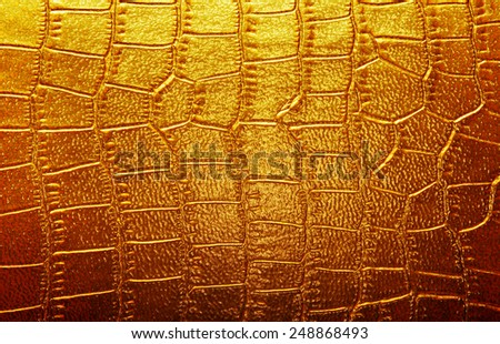 Abstract alligator patterned background - stock photo