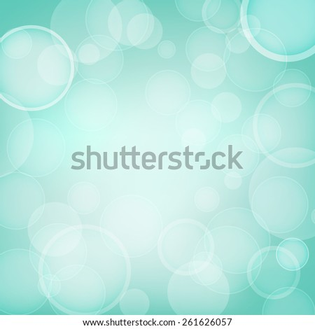 abstract aqua background with light effects - stock photo