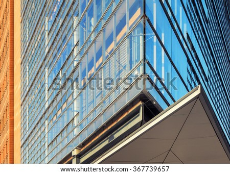 Abstract architectural background - stock photo