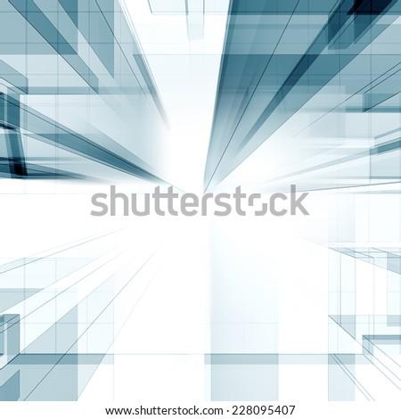 Abstract architecture. Abstract architecture background - stock photo