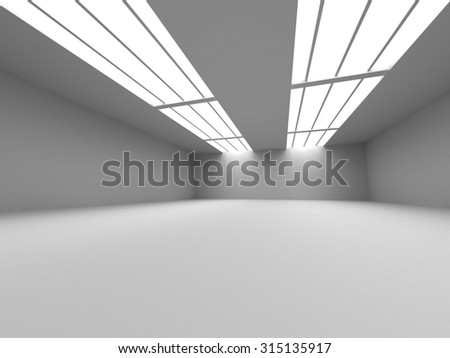 Abstract Architecture Building Design Background. 3d Render Illustration - stock photo