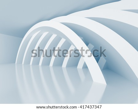 Abstract Architecture Construction Wallpaper Background. 3d render illustration - stock photo