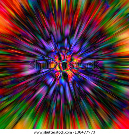 Abstract art - stock photo
