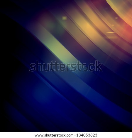 Abstract artistic background - color strips - stock photo