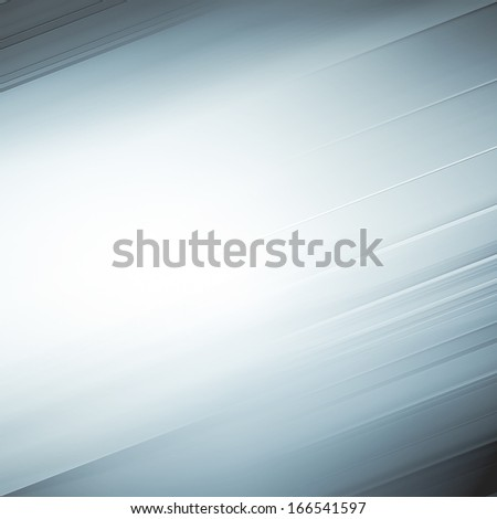 Abstract artistic background texture with vibrant light blue and gray cover of successful business spacious concept, perspective and futuristic tranquility illustration in motion blur shift tilt lines - stock photo