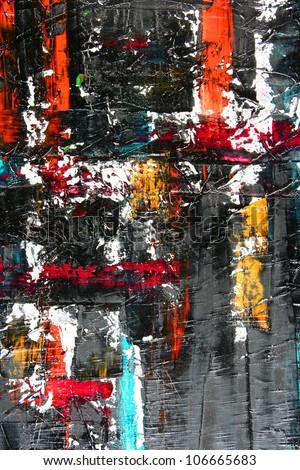 abstract artwork - stock photo