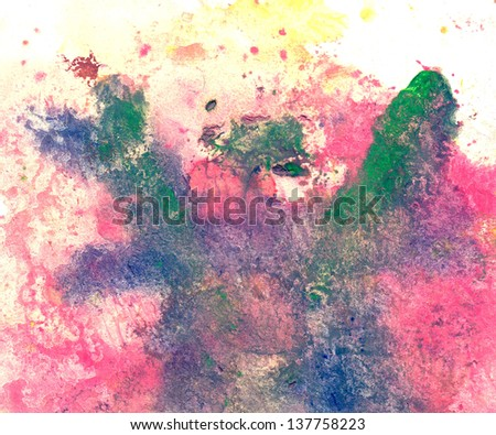 abstract artwork background painting - stock photo